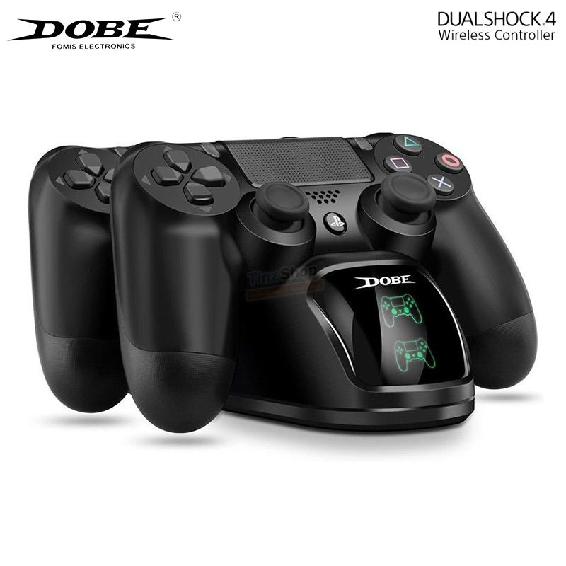 แท่นชาร์จจอยคู่ ++ Dual Charging Dock Station For PS4 Controller ราคา 490.-