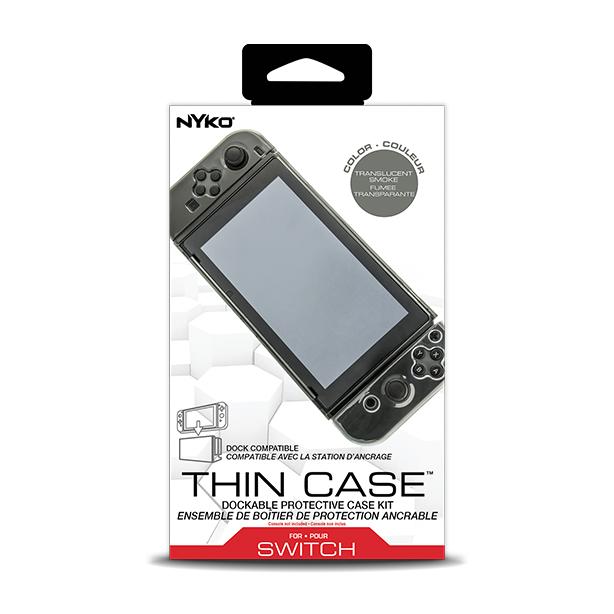 NYKO™ Thin Case* Smoke** สีเทาดำ** เสียบชาร์จกับ Docking โดยไม่ต้องถอดเคส ราคา 690.-(สินค้าขายดี)