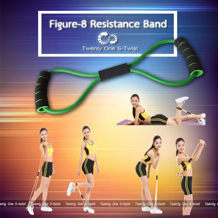 Figure-8 Resistance Band (ยางยืดบริหารกล้ามเนื้อ-สำหรับผู้เริ่มต้น)