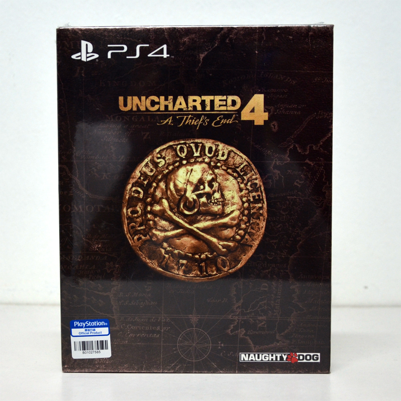 PS4™ Uncharted 4: A Thief's End &#x2605&#x2605Special Edition&#x2605&#x2605 Zone 3 Asia / English ชุดพิเศษ