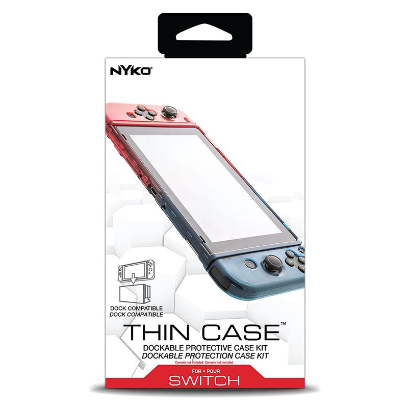 เคสพลาสติกแบบบาง++ NYKO™ Thin Case* เสียบชาร์จกับ Docking โดยไม่ต้องถอดเคส ราคา 690.-