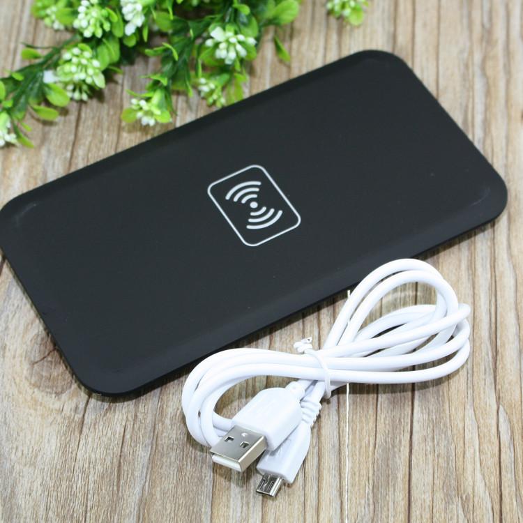 ชาร์ตแบตแบบไร้สาย Wireless Charging Qi Standard สีดำ