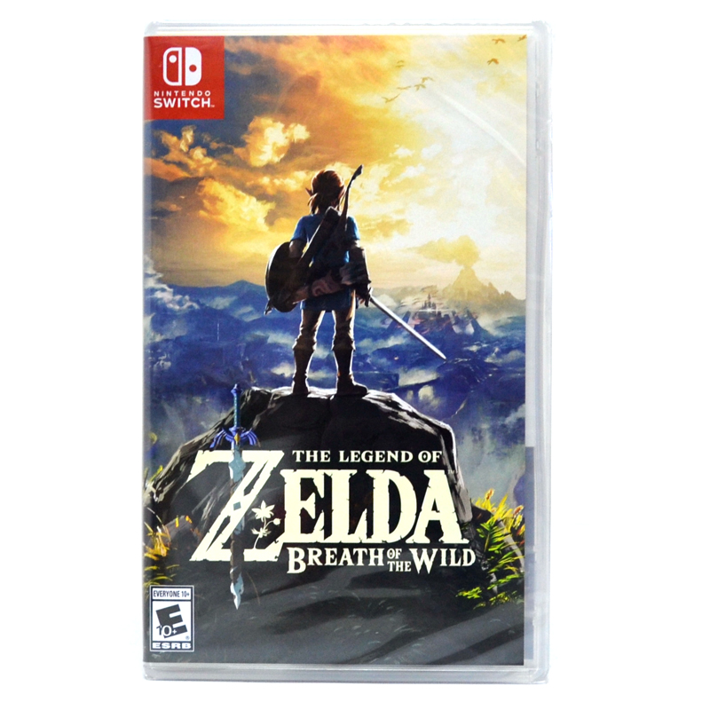Switch™ The Legend of Zelda: Breath of the Wild (US) ( Best Seller Game)