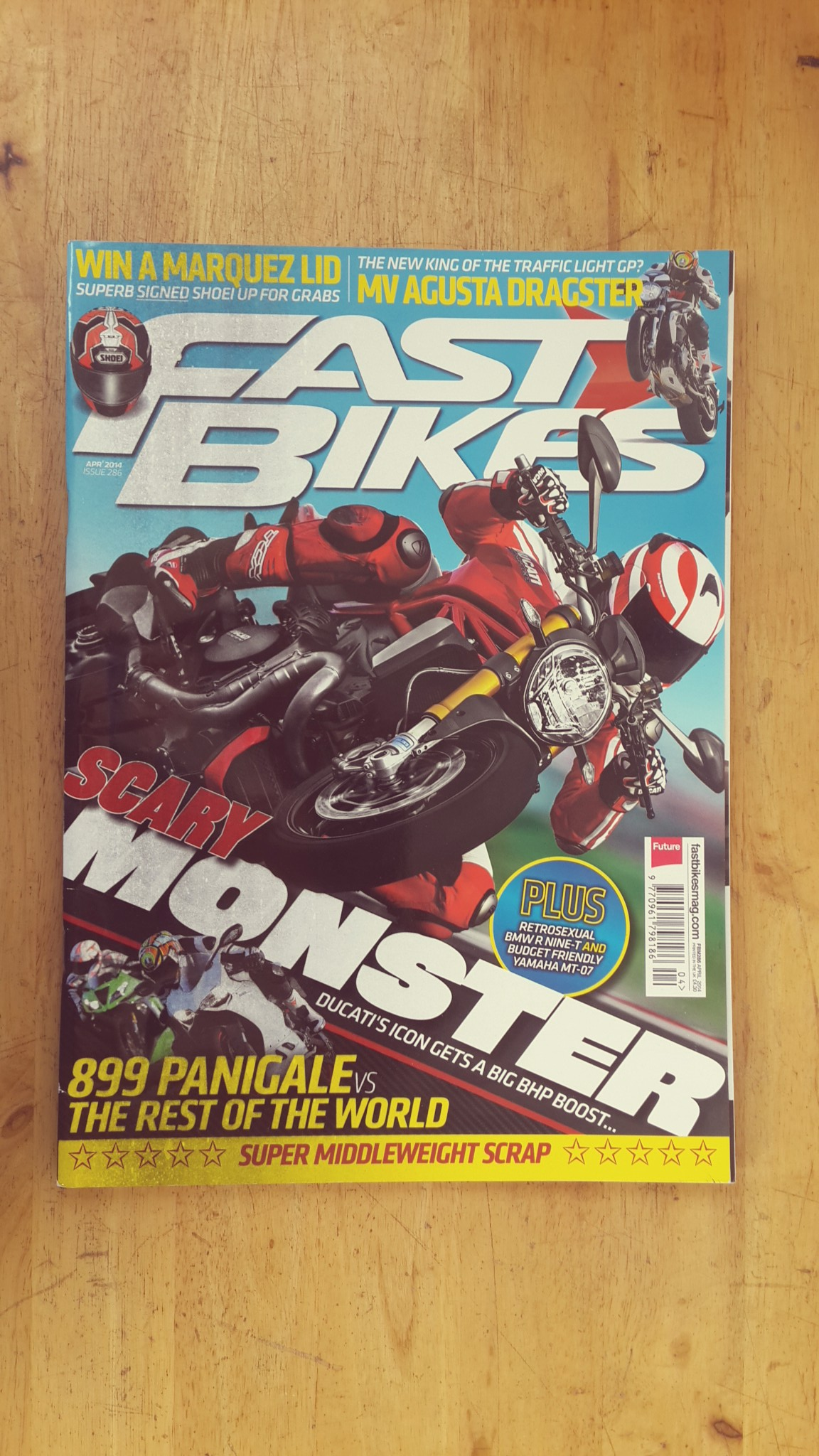 FAST BIKES : ISSUE 286 APRIL 2013