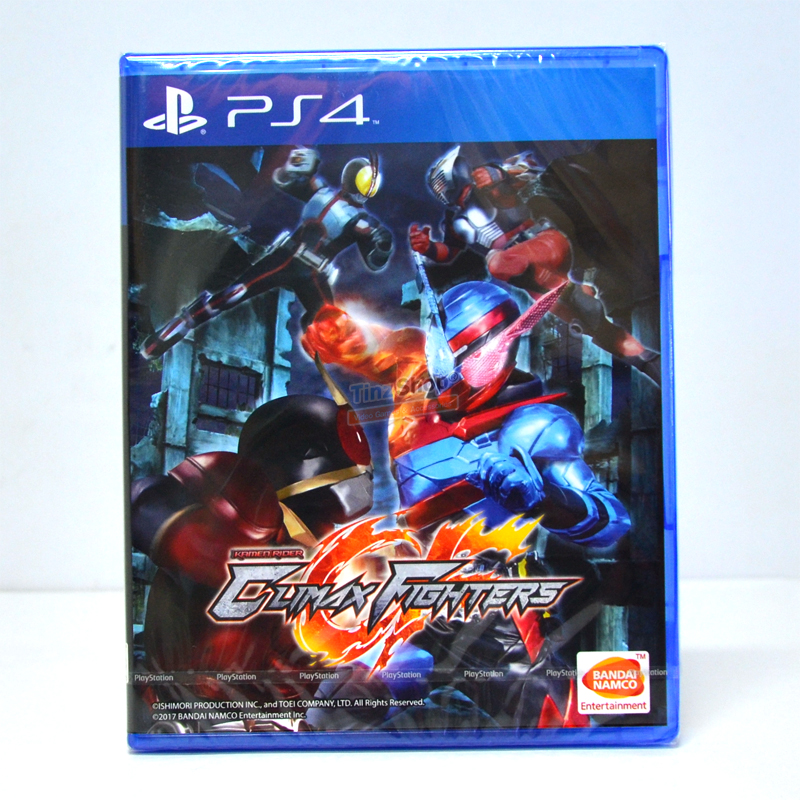 PS4™ Kamen Rider: Climax Fighters Zone Asia / Voice JP, Sub EN ราคา 1890.-