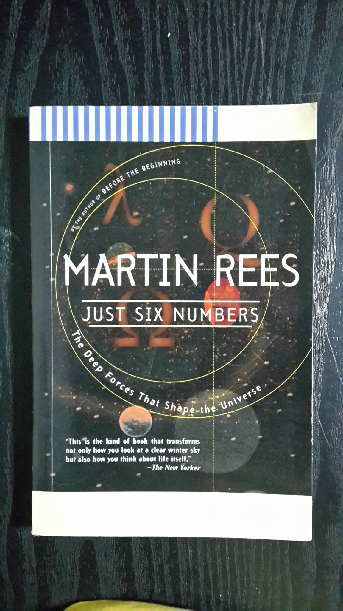 JUST SIX NUMBERS / MARTIN REES