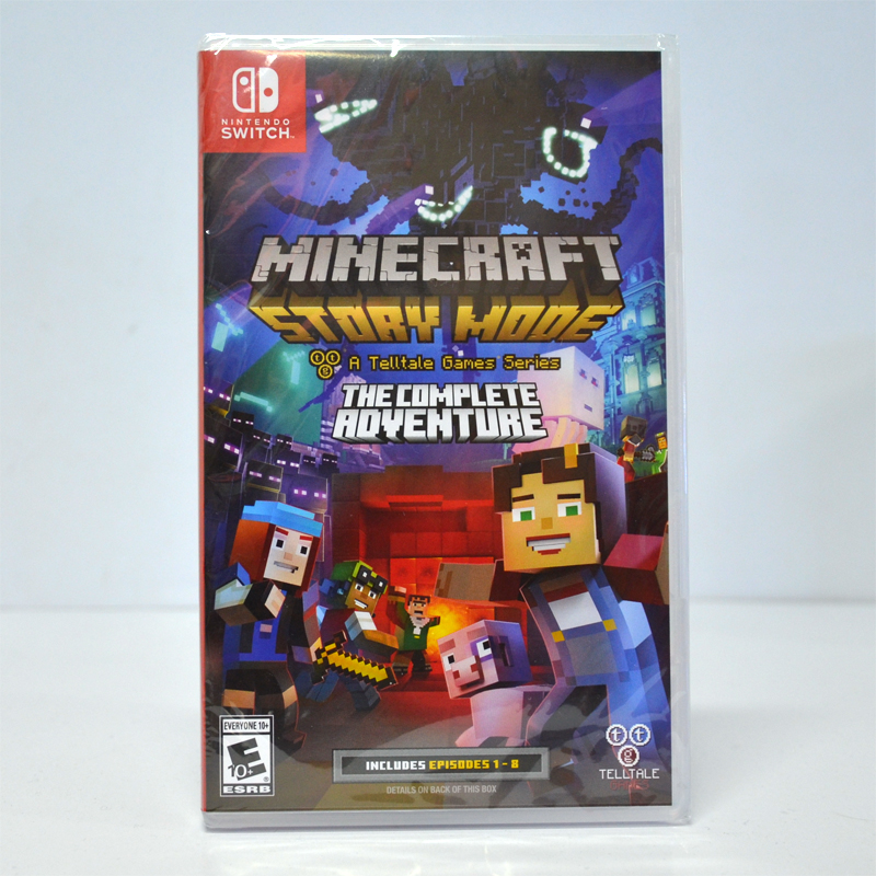 Nintendo Switch™ Minecraft : Story Mode - A Telltale Games Series - The Complete Adventure