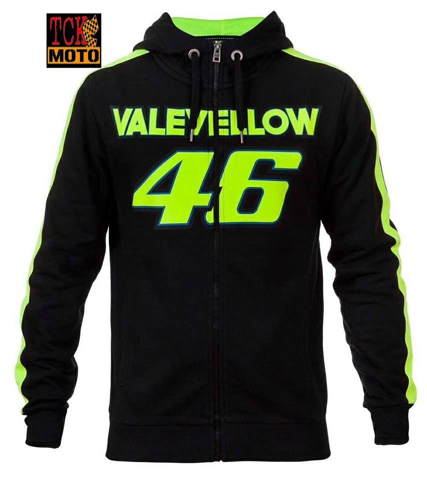 เสื้อฮู้ด VALEVELLOW 46 ดำ