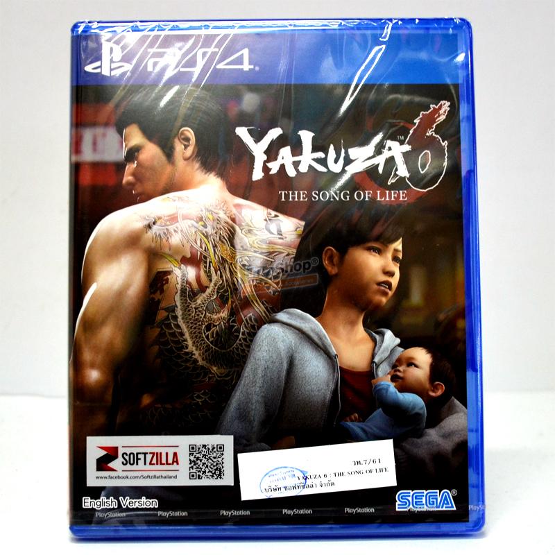 PS4™ Yakuza 6: The Song of Life Zone 3 Asia / English ราคา 1890.- ส่งฟรี