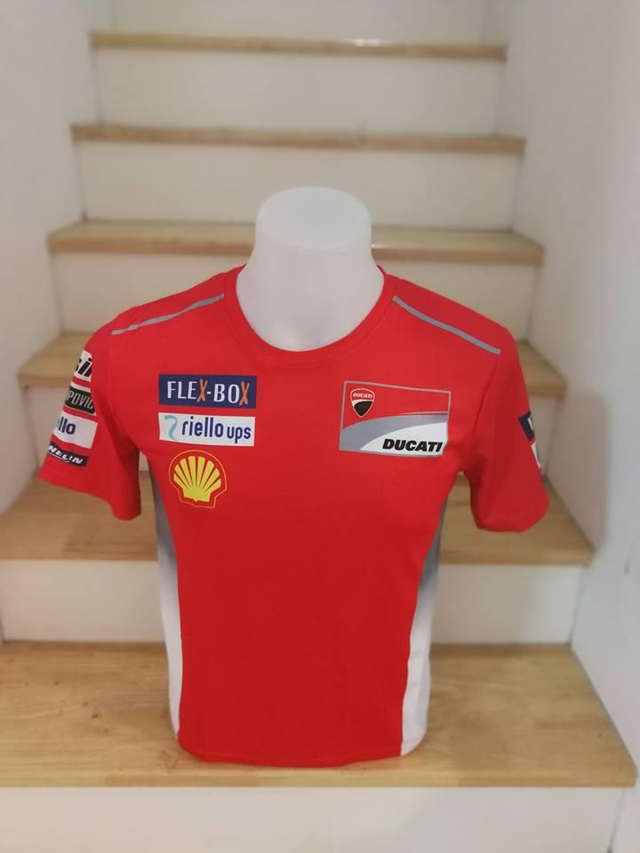เสื้อยืด Ducati MotoGP 2018