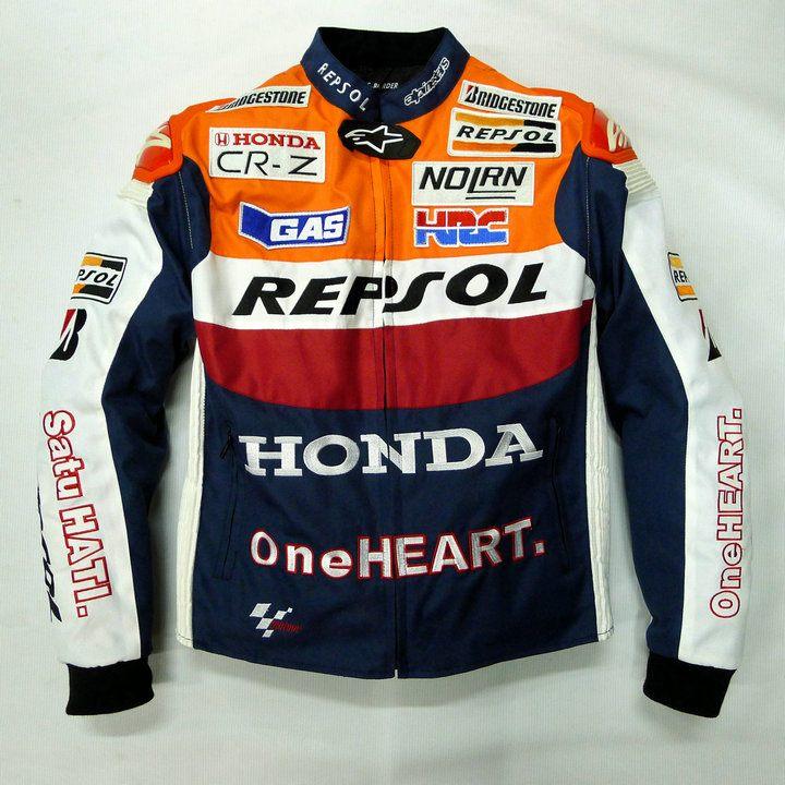 เสื้อการ์ดขี่มอเตอร์ไซค์ Honda Repsol ปี 2015 รุ่นใหม่