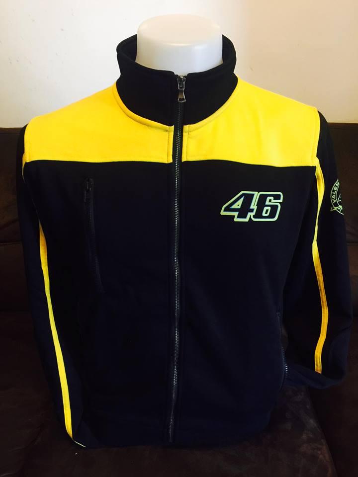 เสื้อแจ็คเก็ต YAMAHA MotoGP สีเหลือง