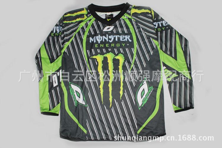 เสื้อขี่มอเตอร์ไซค์ Monster ไซน์ M,L