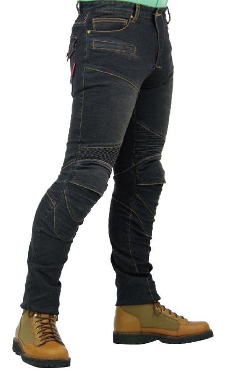 กางเกงขี่มอเตอร์ไซค์ Komine PK-718 สีดำ