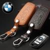 ซองหนังแท้ ใส่กุญแจรีโมทรถยนต์ Bmw New Series 3,5