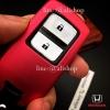 กรอบ-เคส ใส่กุญแจรีโมทรถยนต์ รุ่นไทเทเนียม HONDA HR-V,CR-V,BR-V,JAZZ Smart Key 2 ปุ่ม