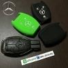 New ปลอกซิลิโคน หุ้มกุญแจรีโมทรถยนต์ รุ่นตูดตัด Mercedes Benz