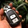 กรอบ-เคส ใส่กุญแจรีโมทรถยนต์ รุ่นกรอบเหล็ก HONDA HR-V,CR-V,BR-V,JAZZ Smart Key 2 ปุ่ม (ถอดดอกกุญแจออกได้)