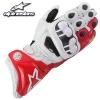 ถุงมือขี่มอเตอร์ไซค์ Alpinestar ข้อยาว GP-Pro สีแดง-ขาว New 2016