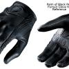 ถุงมือขี่มอเตอร์ไซค์ ยี่ห้อ Icon รุ่น Glove ICON หนังแท้
