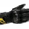 ถุงมือขี่มอเตอร์ไซค์หนังแท้ TAICHI GP-WRX ข้อยาวสีดำ