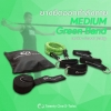 ยางยืดออกกำลังกาย Medium (สีเขียว)