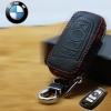 กระเป๋าซองหนัง ใส่กุญแจรีโมทรถยนต์ BMW New Series 3,5 รุ่นซิบรอบ 3 ปุ่ม
