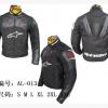 เสื้อการ์ดขี่มอเตอร์ไซค์ Alpinestars-013 สีดำ