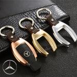 กรอบ-เคส ใส่กุญแจรีโมทรถยนต์ รุ่นอลูมิเนียม ตูดตัด Mercedes Benz Smart Key