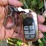 กรอบ-เคสยาง ใส่กุญแจรีโมทรถยนต์ All New Honda Accord,Civic 2016-17 Smart Key 4 ปุ่ม