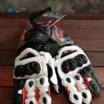 ถุงมือขี่มอเตอร์ไซค์ ALPINESTARS GP-PRO สีดำแดง