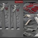 กางเกงขายาวผ้ายืดผู้หญิง กางเกงขายาว Anjoy & Fitchไซส์ M (AF) สีเทา
