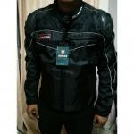 ชุดขี่มอเตอร์ไซค์ เสื้อแจ็คเก็ต เสื้อการ์ดอ่อน DUHAN ไซส์ XL สีดำ