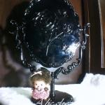 กระจกตั้งโต๊ะเจ้าหญิง สไตล์ ANNA SUI