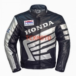 เสื้อการ์หนังฮอนด้า Honda Black