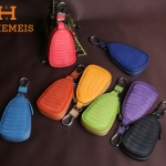 กระเป๋าซองหนังแท้ ใส่กุญแจรีโมทรถยนต์ ลายหนังงูสีสันสดใส H - ENHEMEIS