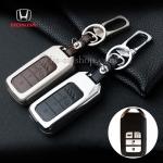 กรอบ-เคส ใส่กุญแจรีโมทรถยนต์ รุ่นโคเมี่ยม All New Honda Accord,Civic 2016-17 Smart Key 4 ปุ่ม