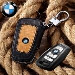 ซองหนังแท้ ใส่กุญแจรีโมทรถยนต์ รุ่นมินิซิบรอบทรูโทน Bmw New Series 3,5