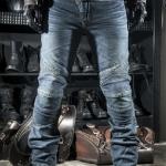 กางเกงขี่มอเตอร์ไซค์ Komine PK-700 สียีนส์