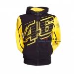 เสื้อแจ็คเก็ตขี่มอเตอร์ไซค์ Monster 46 สีเหลือง