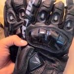 ถุงมือขี่มอเตอร์ไซค์ ไทชิ Rst 410 สีดำ