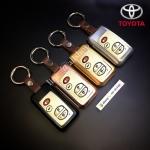 กรอบ-เคส ใส่กุญแจรีโมทรถยนต์ รุ่นไทเทเนียม Toyota Camry Hybrid ,Prius,Altis 4 ปุ่ม แบบใหม่