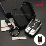 กรอบ-เคสยาง ใส่กุญแจรีโมทรถยนต์ NEW!! ISUZU D-Max X-Series,MU-X Smart Key รุ่นเคฟล่า