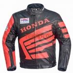 เสื้อการ์หนังฮอนด้า Honda RED