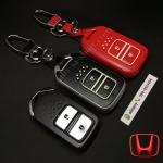 กรอบ-เคส ใส่กุญแจรีโมทรถยนต์ รุ่นเรืองแสง HONDA HR-V,CR-V,BR-V,JAZZ Smart Key 2 ปุ่ม