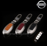 NEW กรอบ_เคส ใส่กุญแจรีโมทรถยนต์ รุ่นโคเมียม Nissan Teana,Almera,Sylphy,Xtrail Smart Key 4 ปุ่ม