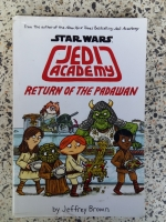STAR WARS JEDI ACADEMY RETURN OF THE PADAWAN / Jeffry Brown