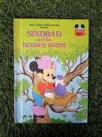 WALT DISNEY PRODUCTIONS : SIND BAD and the ROBBER BIRDS