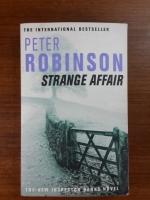 STRANGE AFFAIR : PETER ROBINSON
