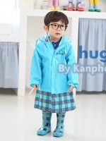 ชุดคลุมกันฝนเด็ก HUGMII By Kanphonsmile :) รหัส 12-LX